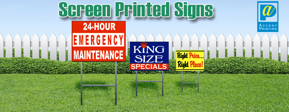 Wholesale Screen Printed Coroplast Signs